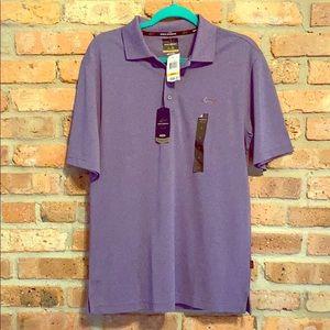 NWT Greg Norman men's purple polo size S